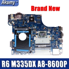 Akemy For Lenovo Thinkpad BE565 E565 NM-A631 Laotop Mainboard NM-A631 Motherboard with R6-M335DX GPU A8-8600P CPU