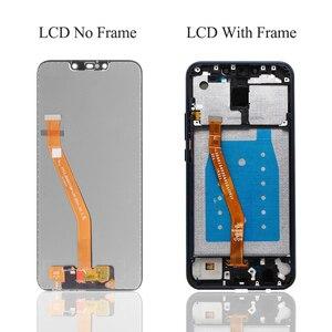 Image 3 - 100% teste de exibição mate 20 lite lcd com quadro display toque digitador da tela para huawei mate20 lite sne lx1 lx2 lx3 tela