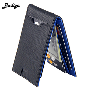 Fashion Men Wallet Casual Multi-card Position Credit Card Holder Ultra Thin Coin Purse For Men Portable Bifold Male Clutch Bag(China)