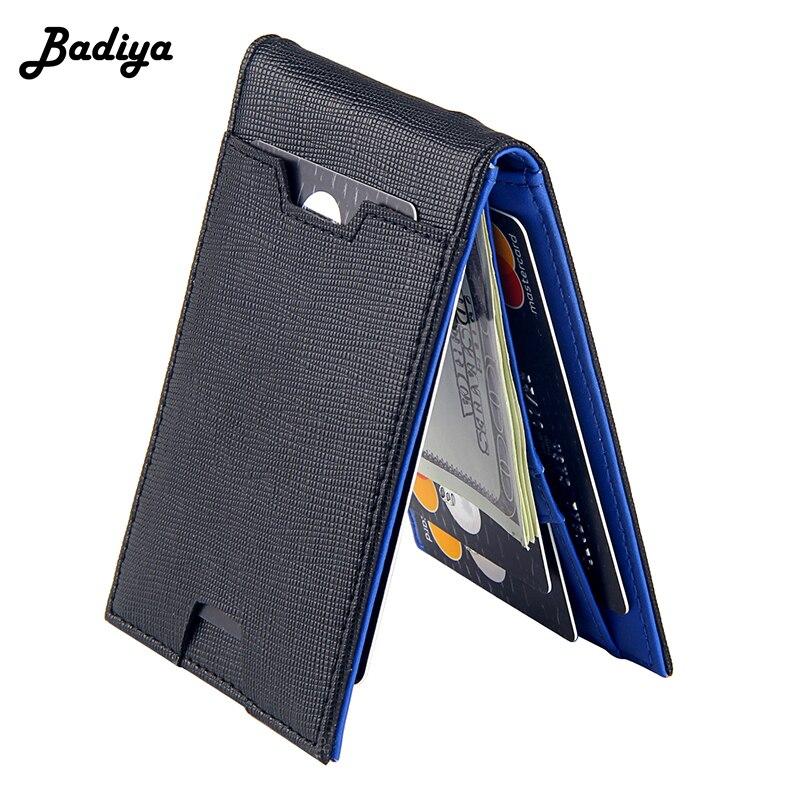 Mode Männer Brieftasche Casual Multi-karte Position Kreditkarte Halter Ultra Dünne Geldbörse Für Männer Tragbare Bifold Männlichen kupplung Tasche