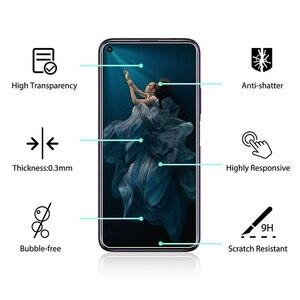 Image 2 - 5 adet temperli cam Huawei onur 20 ekran koruyucu 9H 2.5D telefonu koruyucu cam için Huawei onur 20 Pro cam