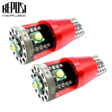 2x T10 LED Canbus W5W 921 Car Led Light Cree Chip Clearance DRL Number Backup Reverse Parking Interior Lamp 12V 24V White