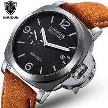 Luxus Top Marke Sport Uhr Männer Wasserdichte Quarz Braun Leder Military Armbanduhr Männer Armee Uhr Männlichen uhren hombre hodinky