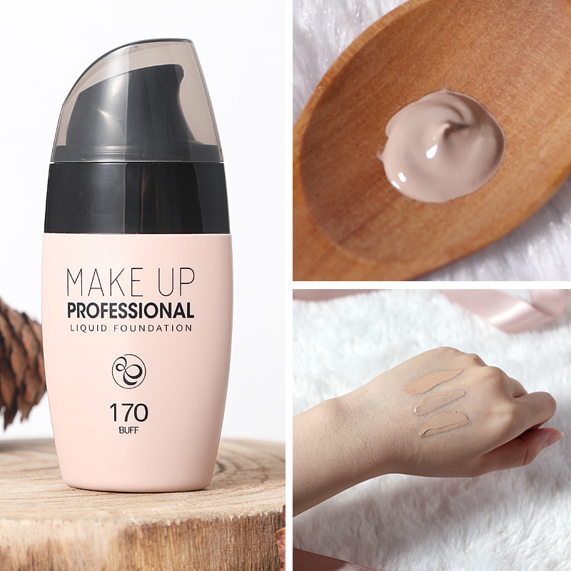 LAIKOU 30ml Velvet Liquid Foundation Waterproof Light Base Makeup Matte Full Coverage Face Conceali Cream Brighten Skin Tone image