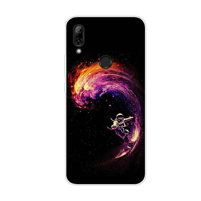 Para Huawei P Smart Z suave funda de silicona TPU funda de teléfono de dibujos animados para Huawei P Smart Z 2019 PSmart Z P SmartZ cubierta Capa