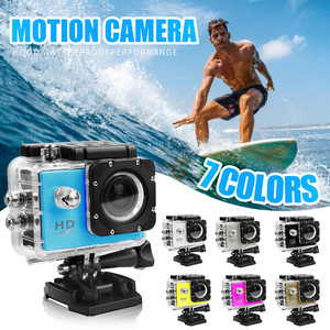 2020 HD1080P DV Sports Recorder Camera 2.0 LCD 30M Waterproof 140º Wide-angle WIFI Mini Action Camera extreme Diving helmet