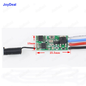 Image 5 - 433mhz DC 3.6V 6V 12V 24V 1CH Mini Relay Wireless RF Remote Control Switch Power LED Lamp Controller Micro Receiver Transmitter