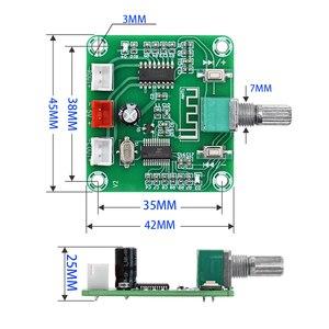 Image 5 - Tenghong PAM8403 Bluetooth 5.0 Bordo Dellamplificatore di Potenza 5W * 2 a Due Canali Stereo Altoparlante Senza Fili Fai da Te Scheda di Amplificazione Del Suono DC5V Amp