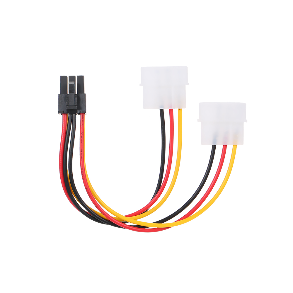<font><b>4</b></font> <font><b>Pin</b></font> <font><b>Molex</b></font> zu <font><b>6</b></font> <font><b>Pin</b></font> <font><b>PCI</b></font>-<font><b>Express</b></font> PCIE Power 4p zu 6p Power Kabel Grafiken Video karte Supply Kabel image