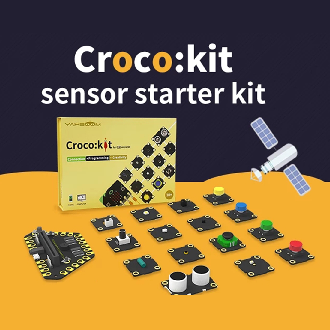 Program Intelligent Robot Sensor Starter Kit Steam Programming Education Development Board Expansion Board For Micro:bit