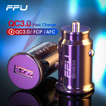 FPU Mini USB Car Charger Quick Charge 3 0 For Mobile Tablet GPS QC3 0 QC 3A Fast Charger Car-Charger Car Phone Charger Adapter cheap Car Lighter Slot ROHS Quick Charge 3 0 QC3 0 Car Charger Qualcomm Quick Charge 3 0 12-24V 2 4A Car Charger Car Phone Charger Phone Car Charger USB Car Charger