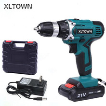 XLTOWN 21V electric screwdriver hand drill rechargeable elec