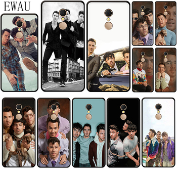 EWAU Jonas Brothers Silicone phone case for Xiaomi Redmi 8A 4A 4X 5 plus 5A 6 pro 6A 7 7A S2 GO K20 pro image