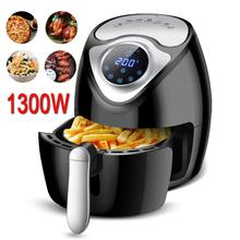 1300W 2.6L Air Fryer Smoke-free Electric Frying Pan Touch Screen Fries Machine Smart Fryer for French fries