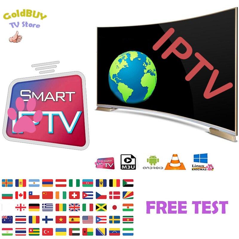 World Hd Iptv Italia Deutschland Romania Europe 1/3/6/12/14Months IPTVsoporte Android Box Tv M3U Smart TV Series