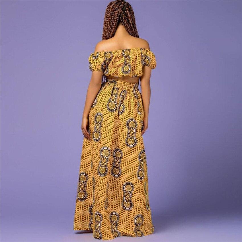 @Hadja Shoulder Off & African Skirt 2