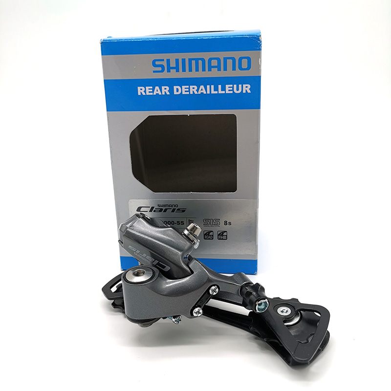 <font><b>Shimano</b></font> <font><b>Claris</b></font> RD-<font><b>R2000</b></font>-GS 8 Speed Derailleurs Road Bicycle Rear Derailleur Bike Parts image