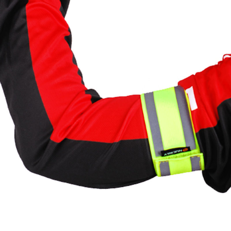 Bike Bicycle Reflective Safety Pant Band Leg/Arm Strap Cycling Reflective Tape Durable Practical Arm Strap
