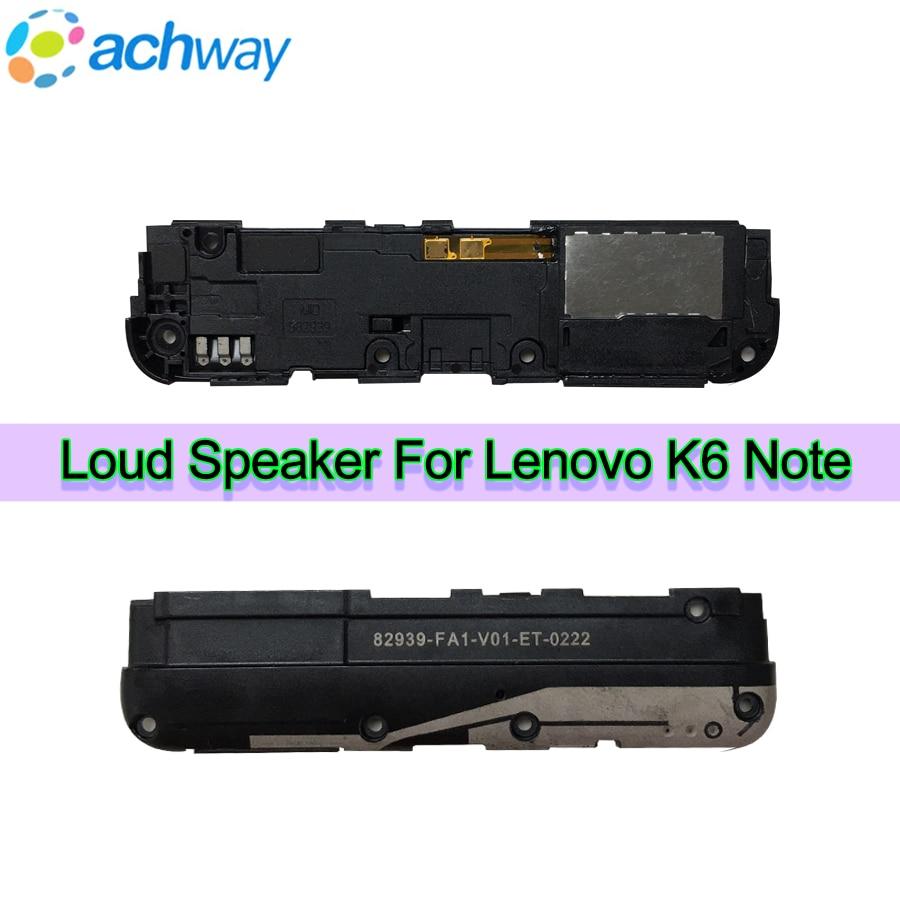 K6 Note Loudspeaker Buzzer Ringer Board Flex Cable ring buzzer For Lenovo