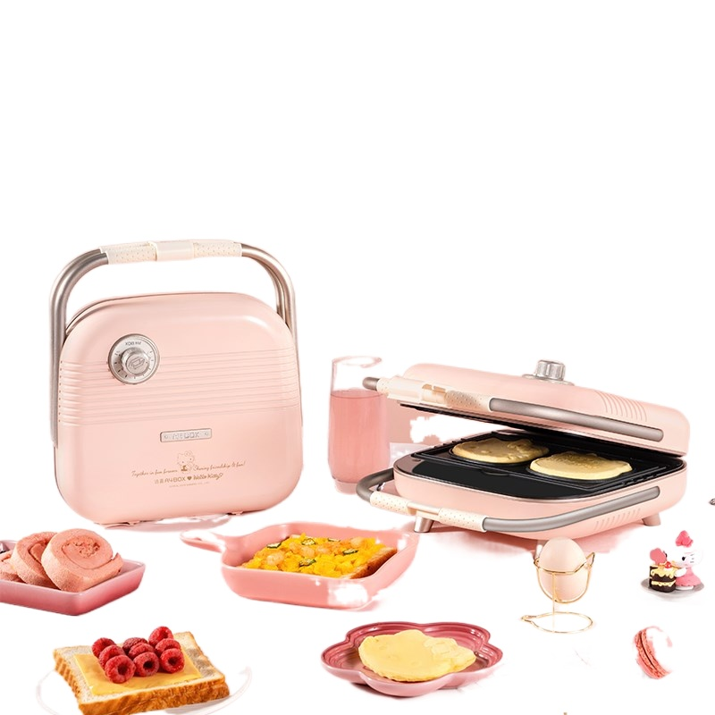 Disney dressing box toaster music box jigsaw teapot