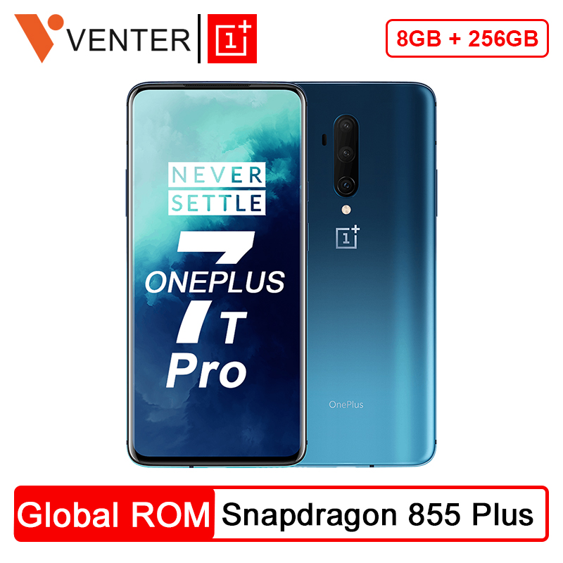 In Stock OnePlus 7T Pro Global ROM Snapdragon 855 Plus 8GB 256GB 6.67'' Fluid AMOLED 90Hz Screen 48MP Triple Cam 4085mA|Cellphones| - AliExpress
