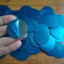 5 шт./лот, 40x0,3 мм, 30x0,3 мм, металлическая пластина-диск, железный лист, магнитный держатель для мобильного телефона, магнитный автомобильный держатель для телефона