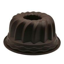 Круглая шифоновая форма для торта большая ажурная 9 дюймов шестеренка