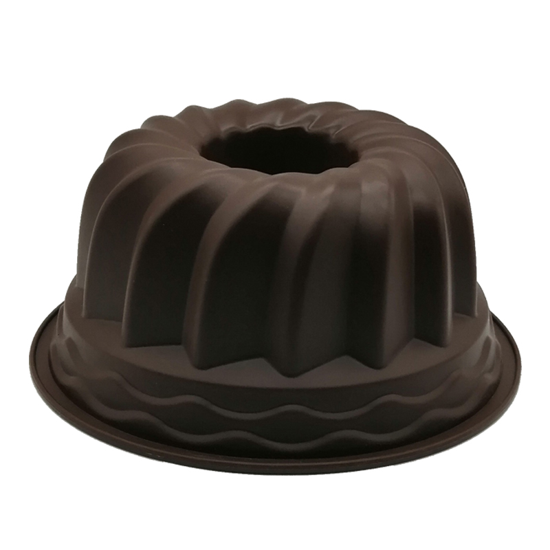 Large Hollow Round 9 Inch Chiffon Cake Mold Gear Plate Silicone Cake Mold Baking Tool Cake Decorating Tools