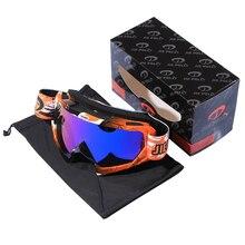 Nova gafas óculos de proteção da motocicleta ao ar livre ciclismo mx fora de estrada de esqui esporte atv bicicleta da sujeira óculos de corrida para a raposa motocross óculos google
