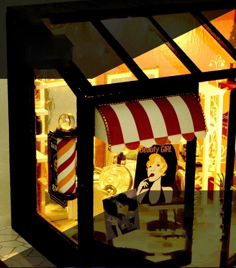 H603c61096caf4e8b9b5b5d703487753eN - Robotime - DIY Models, DIY Miniature Houses, 3d Wooden Puzzle