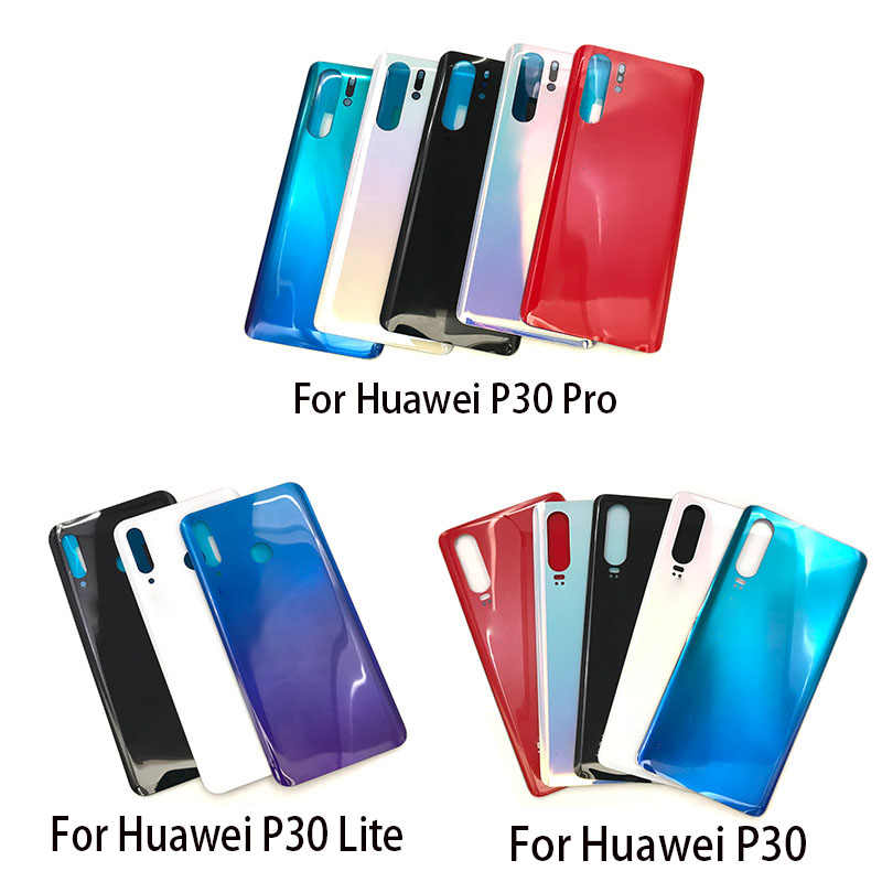 Back Glass Rear Cover For Huawei P30 Lite Pro Battery Door Housing Battery Back Cover