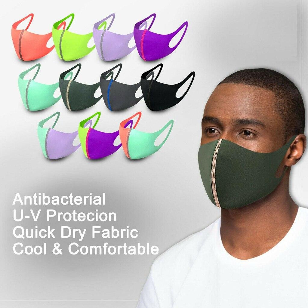 Быстросохнущая многоразовая моющаяся маска для лица, дышащая маска для взрослых в Европе и Америке|Маска для велоспорта|   | АлиЭкспресс