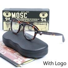 Optical Eyeglasses Frame Men Women Johnny Depp Vintage Glasses Computer Acetate Spectacle Frame For Male Transparent Lens