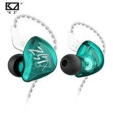Kz zst x 1ba + 1dd drivers híbrido fone de ouvido de alta fidelidade graves fones de ouvido in-ear monitor cancelamento de ruído esporte fones de 2pin cabo kz edx zstx