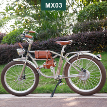 500W bicicleta eléctrica Retro bicicleta crucero bicicleta eléctrica Retro ebike clásico 48v estilo británico bicicleta electrochapada