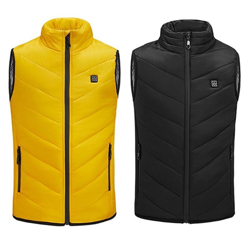 Children Kids Heated Vest USB Heating Winter Outdoor Thermal Vest Jacket