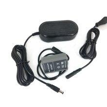 AC Power Adapter + BLN1 Dummy Battery Coupler Charger Kit for Olympus E P5 / OM D E M5 II / E M1 Cameras PS BLN 1 BLN 1