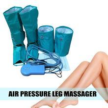 Circulação perna envolve pé bezerro massageador massagem pressão de ar compressão tornozelo compressão de ar perna massageador