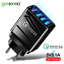 Universal Mobile Phone Travel Charging EU Plug USB Power Home Wall Charger Adapter for iPhone 4 4s 4G 5 5s 5c 6 6s 7 Plus Ipad цена