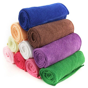 Solid Dry Hair Towels Pet Supp