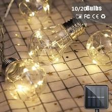 10/20 Bulbs LED Solar…