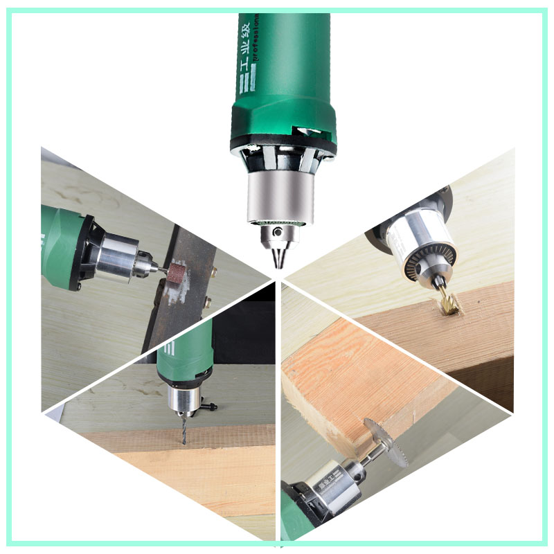 260W/480W high-power electric drill engraving machine with flexible shaft 6-position variable speed Dremel rotary power tool 5