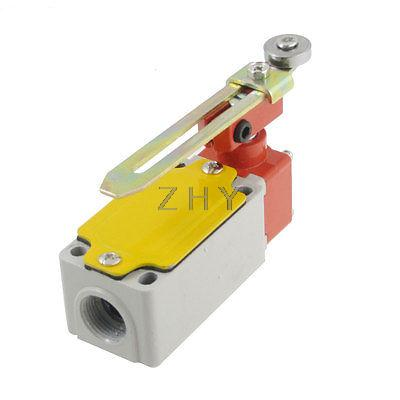 4pcs Roller Hinge Lever NO NC Actuator Micro Limit Switch DC 125V 0.6A