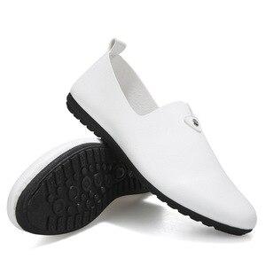 Image 5 - กระชับแฟชั่น Light Loafers ฤดูใบไม้ผลิ Autumm รองเท้าคลาสสิกนุ่ม ComfySlip บนรองเท้า