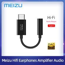MEIZU HiFi Audio DAC decodifica amplificatore/Amp Pro 3.5mm tipo c cavo adattatore Audio USB CS43131 Chip 600ou PCM 32bit/384k DSD