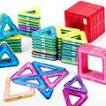 Конструктор Магнитный большого размера, Детский конструктор, аксессуары для моделирования и строительства, развивающая игрушка