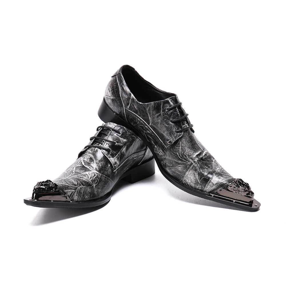 英国男性フォーマルオックスフォードシューズレースアップ本革ダービー靴パーティー結婚式ポインテッドトゥのドレスシューズビジネス男性 brogues