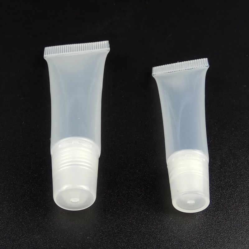 5 Pcs Kosong Transparan Lip Balm Tabung Wadah Kosmetik Lipstik Botol Alat Make Up Kecantikan Aksesoris