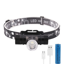 12000 lumens Led Headlamp XML-T6 ZOOM Headlight Waterproof Head Flash Lamp Camp Hike Fishing Light+18650+USB Charger