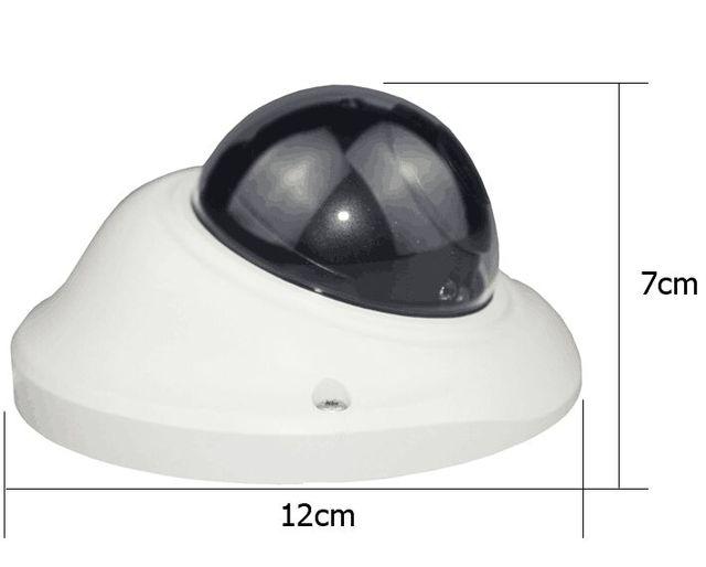Пластиковый корпус для купольной камеры видеонаблюдения, корпус s для AHD IPC CCD PCB